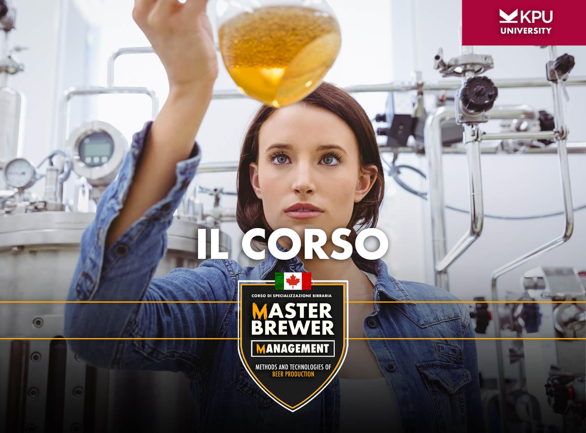 master brewer management corso di specializzazione
